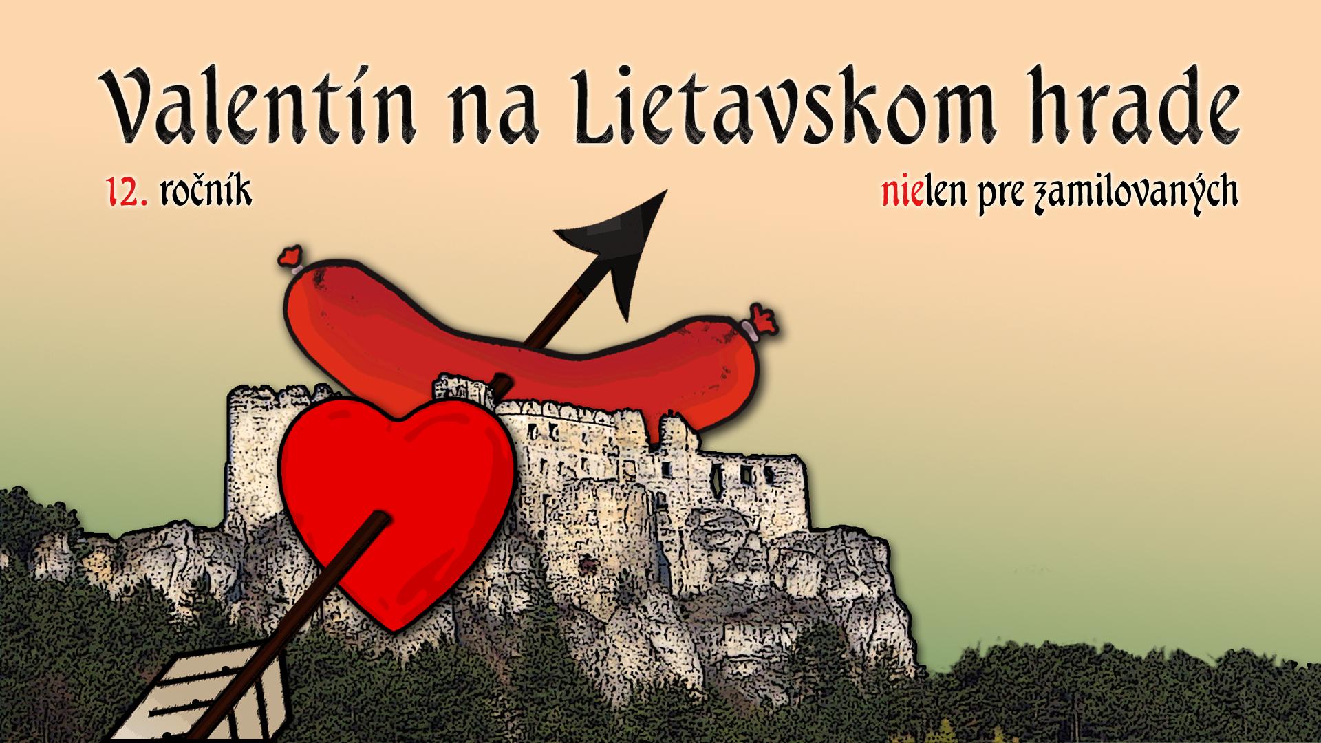 Vizual k akcii valentin na lietavskom hrade